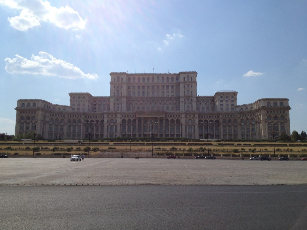 Palace of the Parliament in Romania